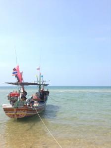 パッタニー県ヤリンの海。